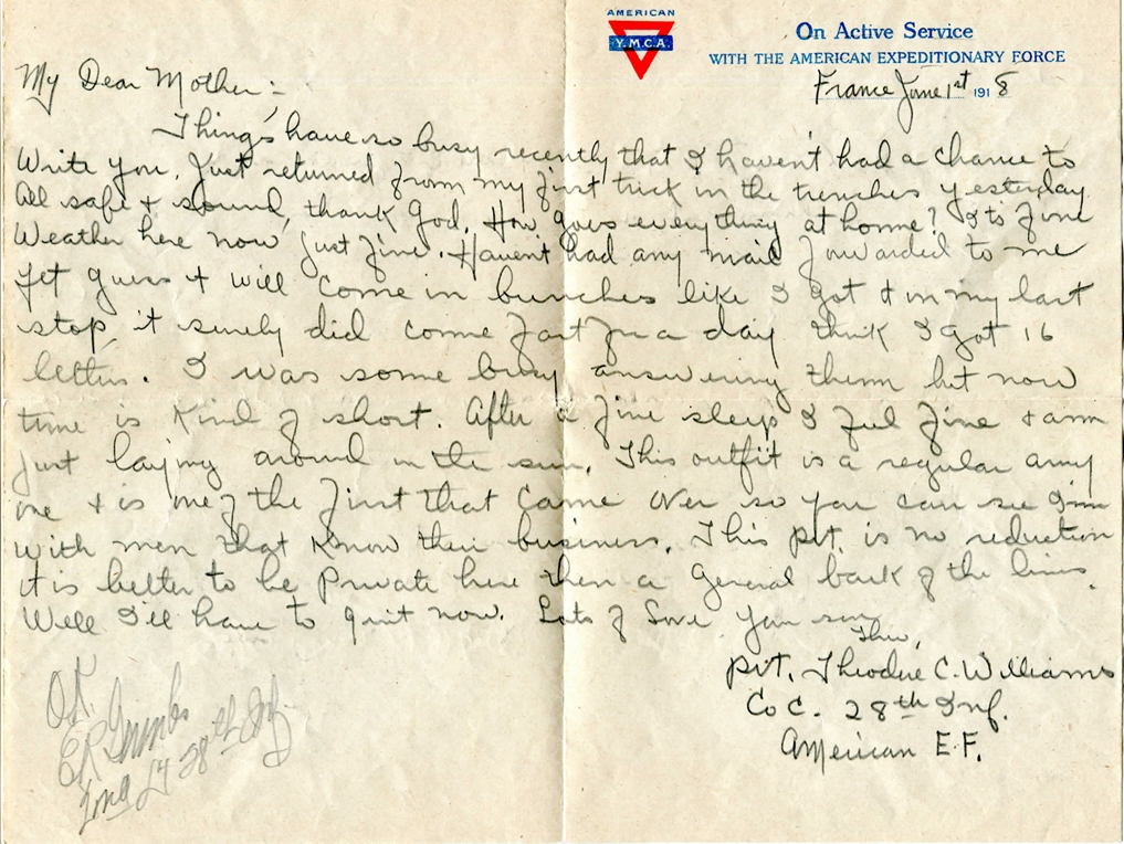 Letter from Theo Williams2 copy