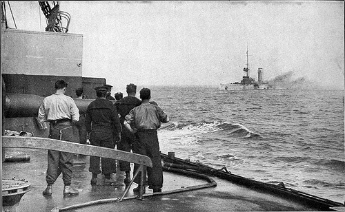 Naval battle of Heligoland Bight, 28 Augut 1914