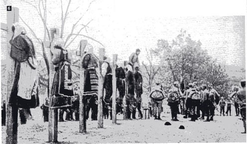 Serbian women executed, unknown date during World War One