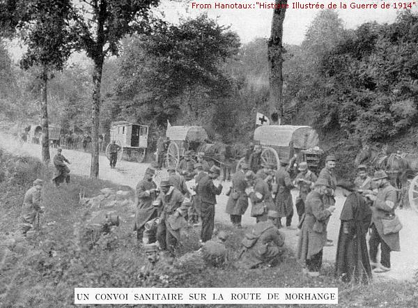 French hospital unit, Morhange France, August 1914