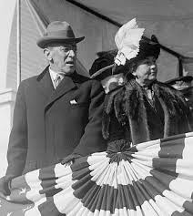 President-elect Woodrow Wilson and his wife Ellen, 1912