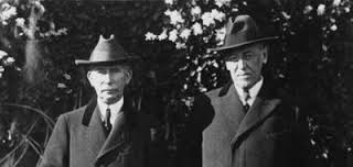 President Wilson and  Colonel Edward House