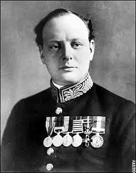 Winston Churchill, First Lord of the Admiralty, 1914