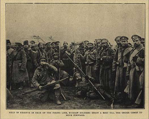 Russian troops in Austrian Galicia, date uncertain