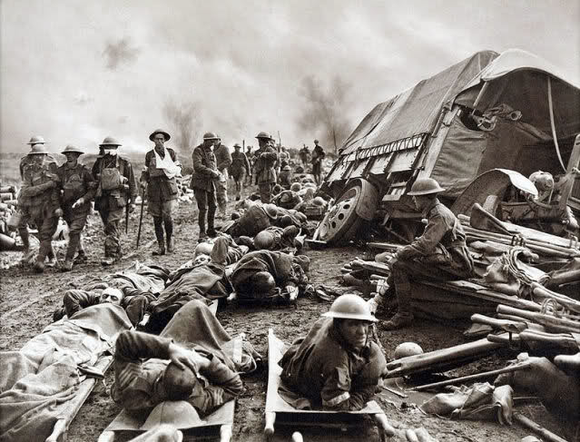 First battle of Ypres, October-November 1914