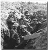 British troops in the trenches, First Battle of Ypres, October 1914
