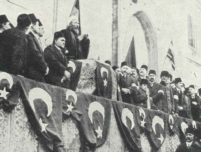 The Ottomans Declare War Constantinople, November 1914