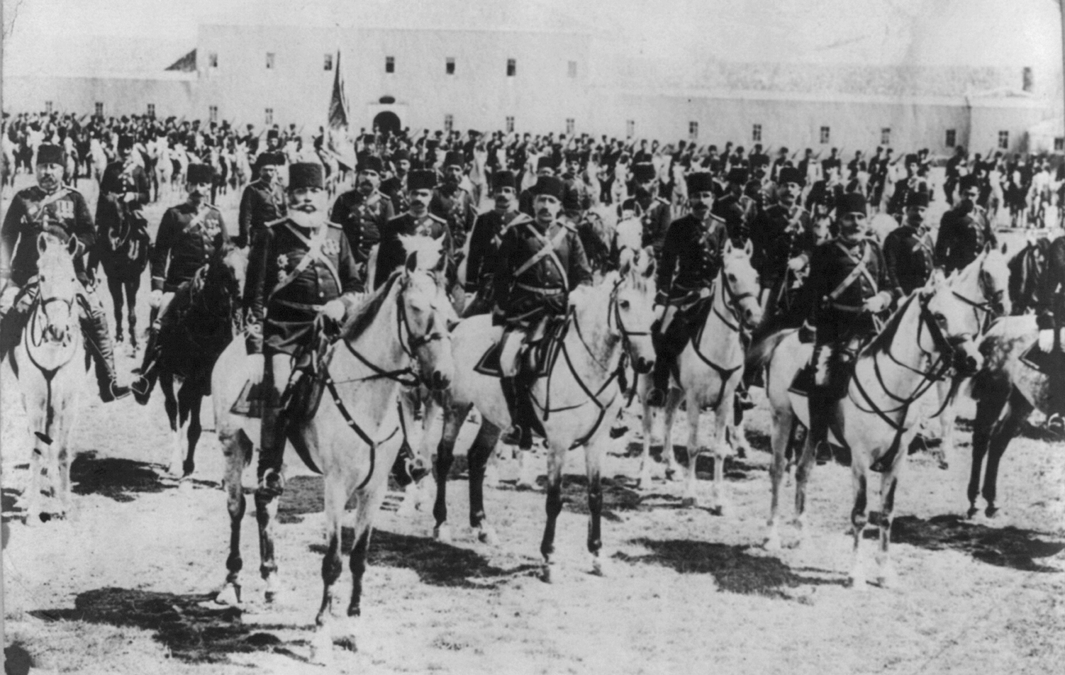 Ottoman cavalry, now in the war, date and place uncertain