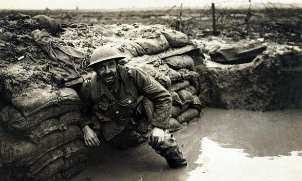 The horror of the trenches, the mud and the muck, and enormous losses.