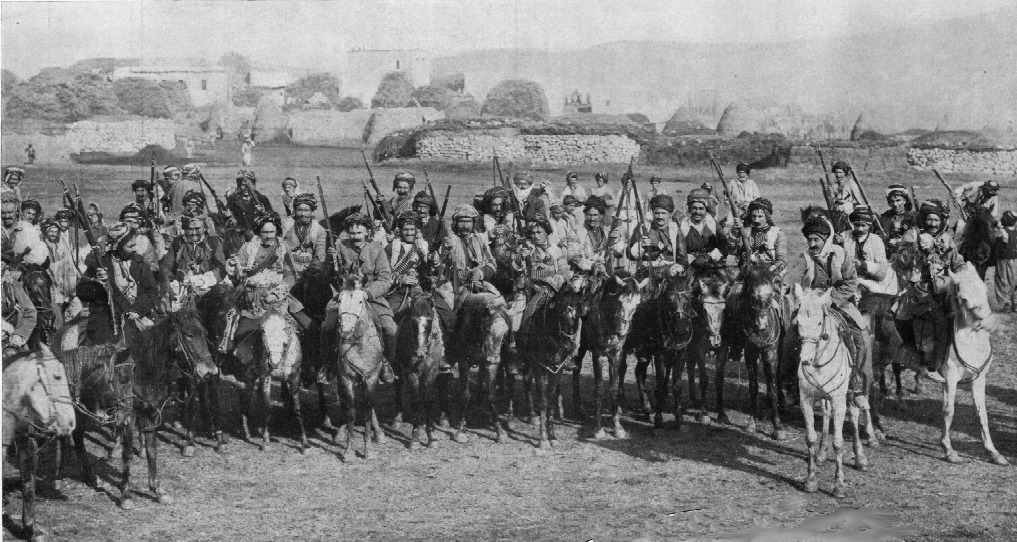War comes to the Caucasus, November, 1914