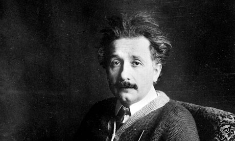 The young Einstein spent the war in Germany, opposing the fighting.
