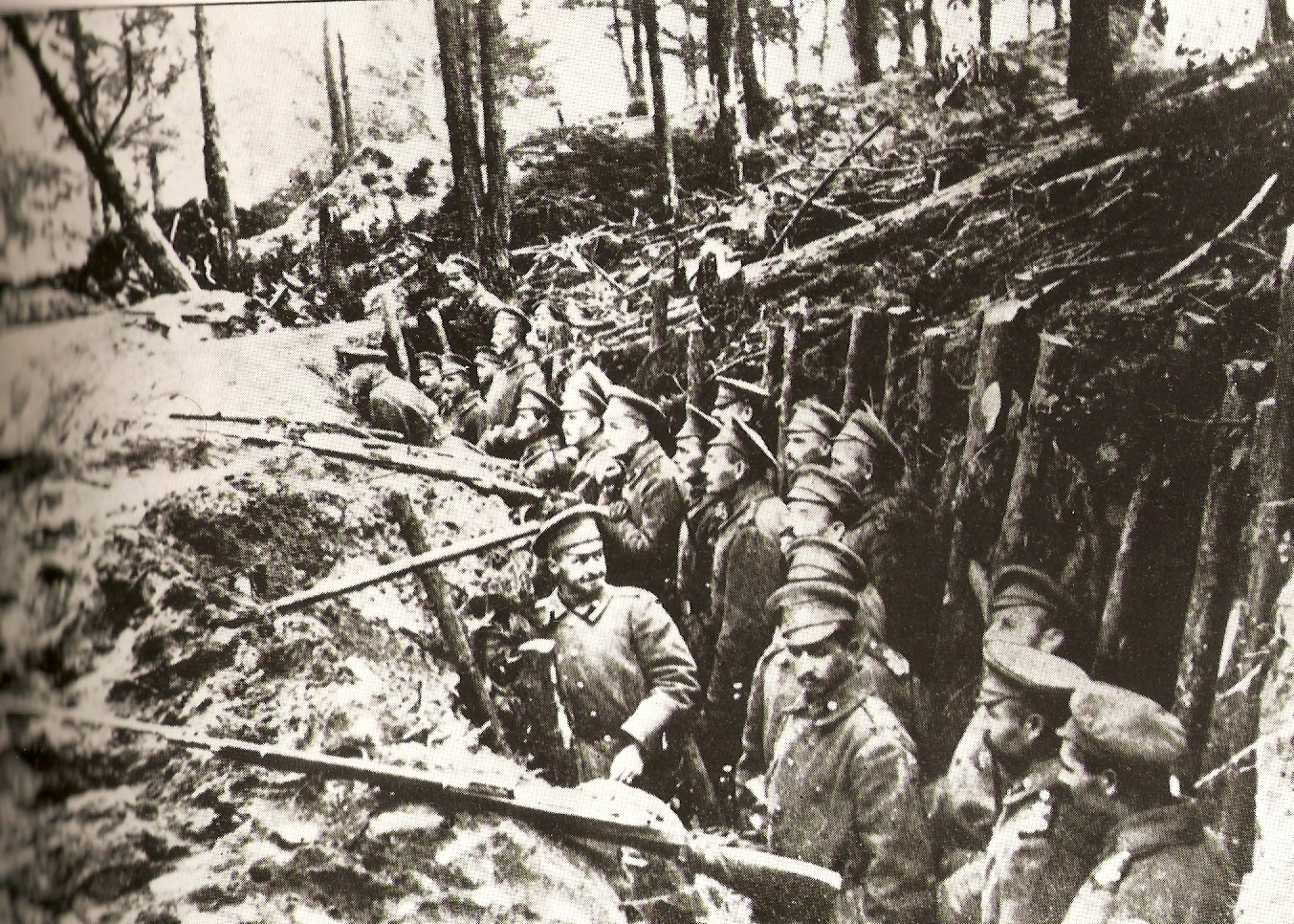 Russian troops in the Caucasus, date uncertain.