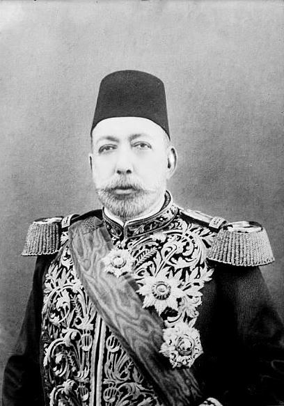 Sultan Mehmed V, Caliph of the Ottoman Empire.