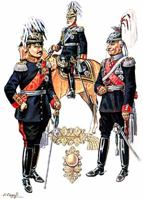The German commanders of World War One.