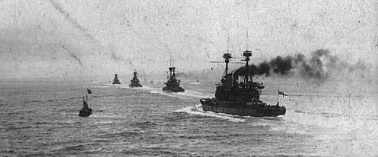 British ships at Dardanelles
