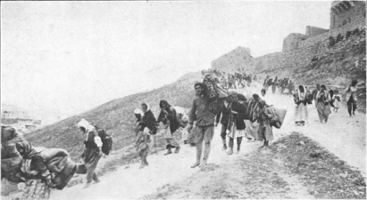 "Of this photo, the US ambassador wrote ""Scenes like this were common all over the Armenian provinces in the spring and summer months of 1915. Deaths in its several forms."""