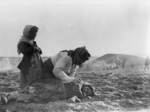 Death on the Armenian deportation marches, spring 1915.