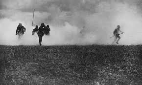 Germans use poison gas in large-scale offensive at Ypres, May 1915
