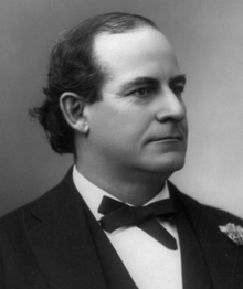 American Secretary of State William Jennings Bryan.