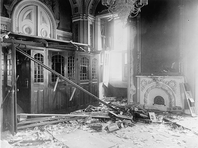 Bomb explodes in U.S. Senate, July 2, 1915