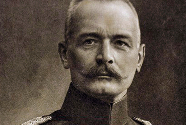 German chief of staff, General Erich von Falkenhayn