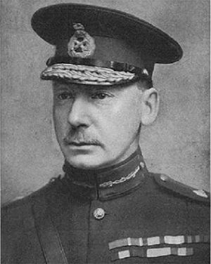General Charles Townshend, commander of British forces in Mesopotamia.