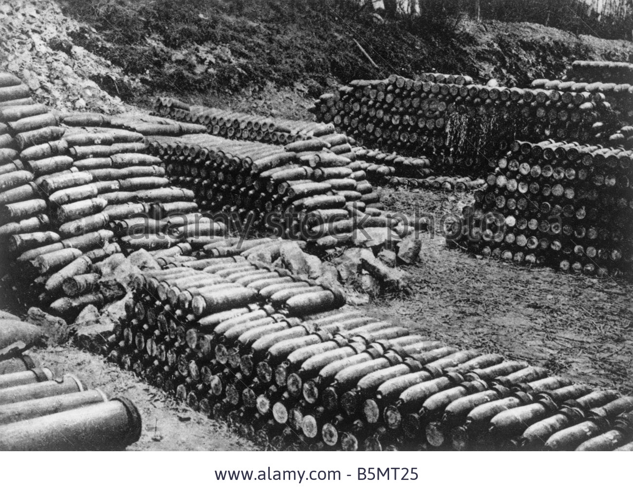 French munitions at Verdun, February 1916.