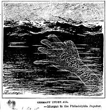The hand of the German U-boat lurks just under the surface.
