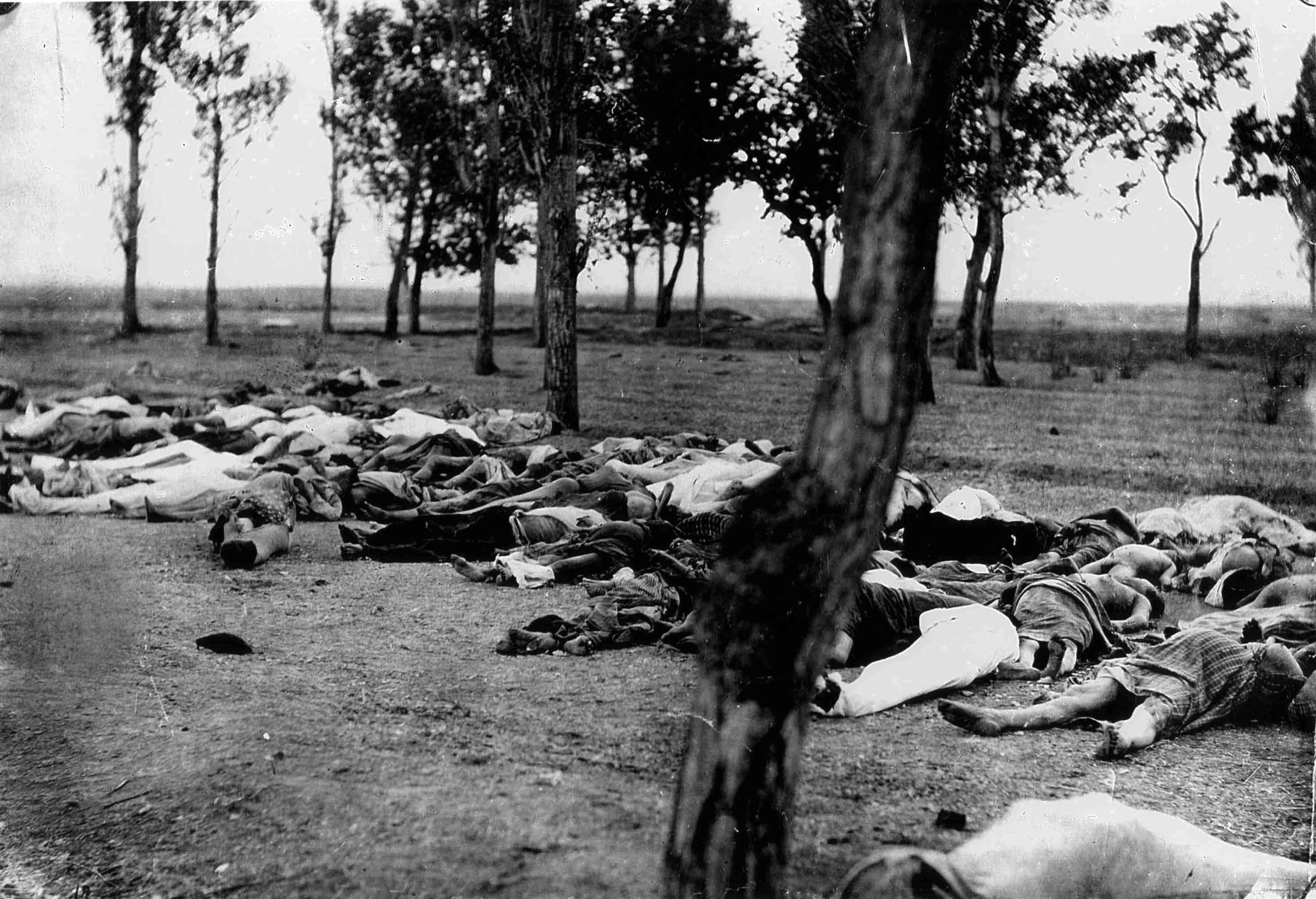 The Armenian dead, date uncertain.