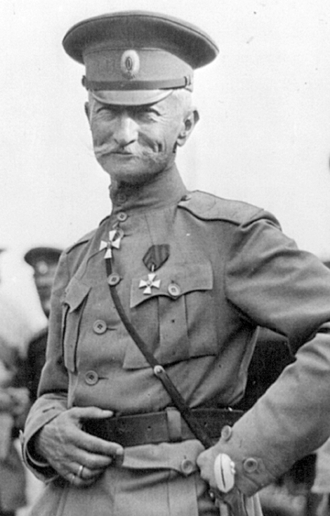Rucsian General Alexei Brusilov, commander of Russia's western forces.