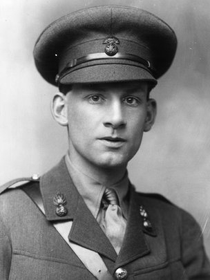 Poet Siegfried Sassoon.
