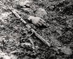 An image of the dead at Verdun, 1916