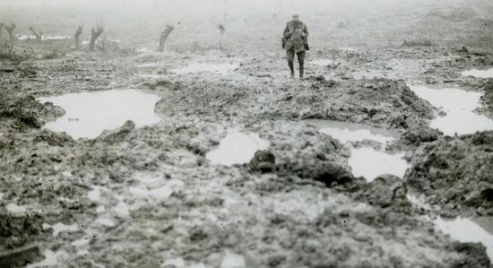 The Somme battlefield.