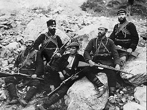 A group of Bulgarian irregulars, date and place uncertain