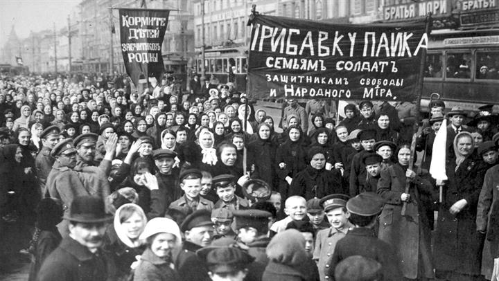 Civilians and soldiers alike protest the war, date uncertain.