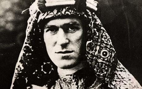 The legendary Lawrence of Arabia -- T.E.Lawrence.