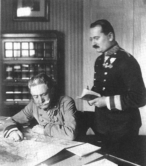 Baron Conrad von Hotzendorf, chief of German naval operations.