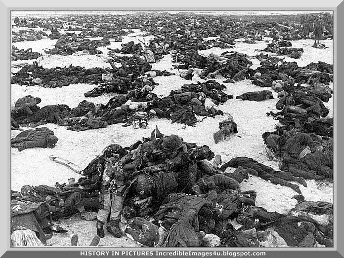 Dead Russian soldier, place and date uncertain..