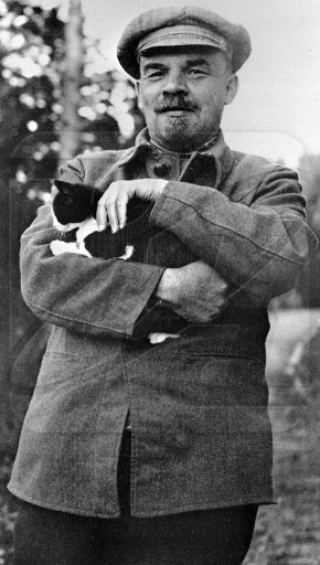 Lenin loved cats.