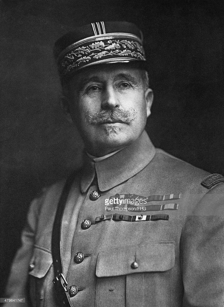 General Robert Nivelle, commander of French forces on the Western Front.
