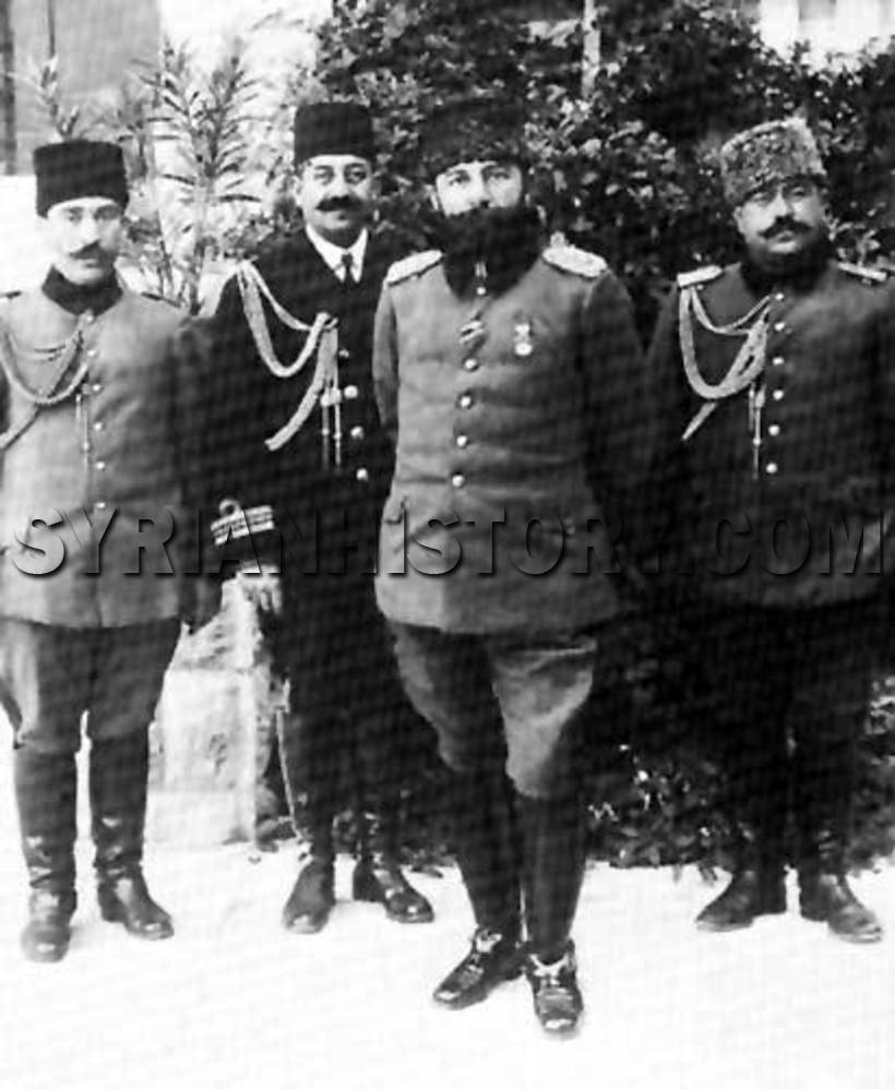 Djemal Pasha, center rght.